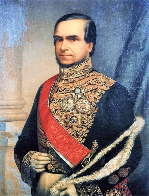 Marquês do Paraná (pintura de Ilio Bauch)