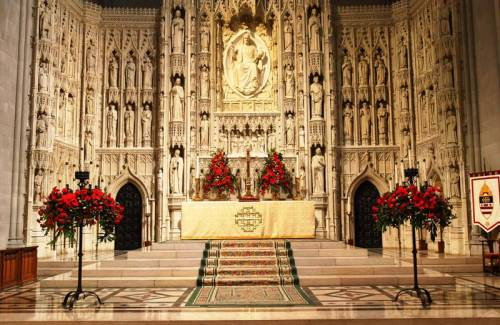 altar-mor catedral de Washington