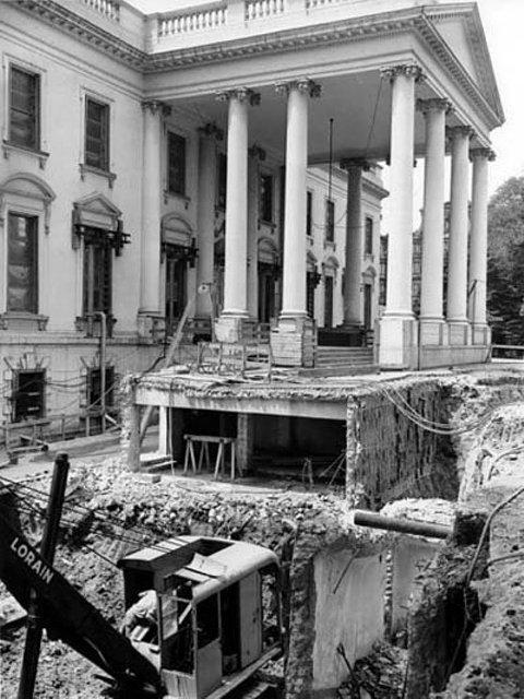 casa branca - bunker