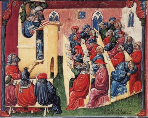 Os sábios árabes como os maiores vultos da universidade medieval